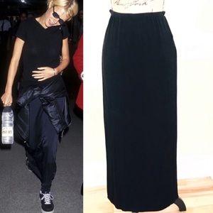 Vintage Grunge Nina Piccalino Maxi Skirt 90s